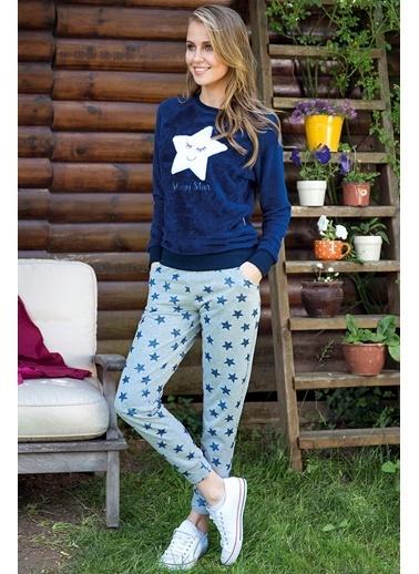 Anıl Pijama Takım Lacivert